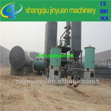 Waste oil refining plant / crude oil distillation machine from JNYUAN