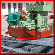 Hot sale and lasted design 4-16mm two ribs cold rolled rebar rib making machine