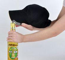 sports cap with built in beer bottle opener hat