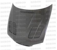 SEIBON 01-05 BMW M3 Carbon Fiber Hood GTR E46 02/03/04