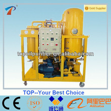 Emulsified Turbine oil treatment machine with no pollution,restores oil flash point,stainless steel