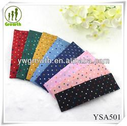 Fashion children hair clip polk dots big BB clip,fabric hair clip