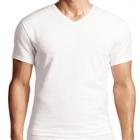 Men's Cotton Stretch V-neck T-shirt