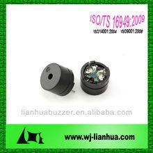 let 1285 12*8.5mm 1.5v 2408hz external driven pin mounting buzzer door buzzer timer buzzer