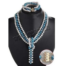 acqua dolce perla perla 14k braccialetto