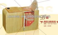 infrared sauna capsule massage foot half body sauna KN-008B