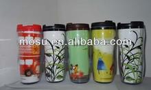 plastic thermos coffee mug,portable coffee mug