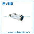 9V 2A Car Charger dc Adapter, CC2P06 Dual USB 5V 2.1A USB Bullet Car Charger