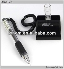 hotselling cheap price desk pen stand set for bank&office