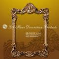 top venda cobre antigo espelho molduras de poliuretano com um design elegante