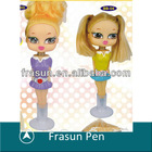 Fashion Doll Shape Stand With Cupule Promotional Mini Hidden Pen Camera