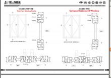 aluminium sliding and casement window and door profile