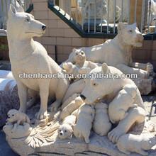 china sculpture Stone Animal sculpture