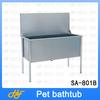 stainless steel dog bath product,dog bath tube,pet bath tub SA-801B