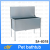 stainless steel dog bath product,dog bath tube,pet bath tub SA-801B