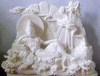 nature stone granite buddha statue(shandong china)