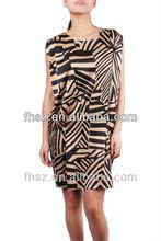 Lastest designs short sheeve ladies causel dress ladies kurta designs
