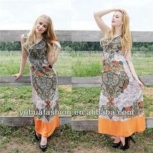 Chiffon dress,plus size women tunic