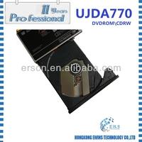 100% Original UJDA770 DVD laptop internal dvd rom\cd rewritable internal laptop dvd writer