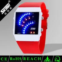 2014 Skmei cheap wholesale kids slap watches silicone