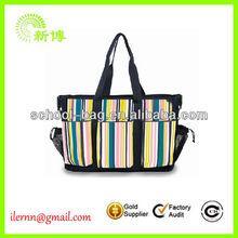 2013 Fashion Naval style cheap canvas beach bag