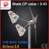 24v 1000w power generation wind energy system with twin tail made in China (on-grid)