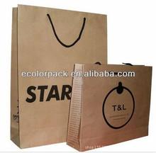 custom cheap brown kraft paper bags,EP134,ISO9001:2000(ISO9001:2008), 8S, ERP