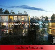 3d rendering design/3d design sketch/3d effect drawing/picture