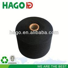 Ne20s/1 recycled yarn cotton covered spandex yarn