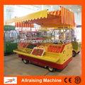 marco de acero inoxidable estructura móvil de la cesta de frutas para la venta