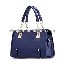 Ladies 2014 Summer Patent Leather Tote Satchel Bag(BJLZ001)