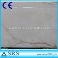 blanco natural de piedra de ónix de color rojo con línea