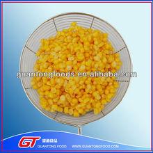 Canned Fresh Sweet Yellow Corn In China