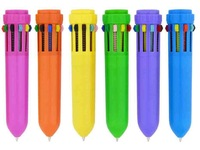 Wonderful Novelty Retractable 10 Color Pen