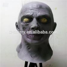 X-MERRY Uncle Creepy Bald Old Man Monster Freak Adult Latex Full Head Mask