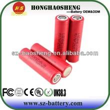 3.7v LG 18650 3000mah 18650 li-ion battery LG 18650 2500mah