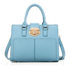 Hot new Euramerican metal lock female fashion casual hand bag Shoulder Messenger handbags