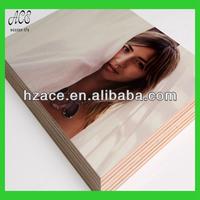 wood prints/uv print photo on wood