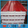Pre- corrugado pintado precios de la hoja de material de construcción