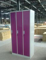 Clothes Locker With Hanging Rods/ Steel Locker/ Locker