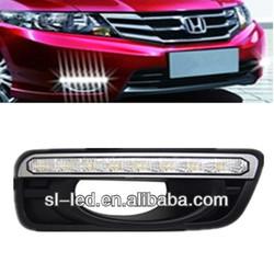 Dedicated daytime running LED car lights - for Honda New CITY flexible leadership DRL / Daytime running lights