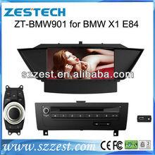 "ZESTECH dvd bluetooth radio GPS 9"" car navigation for BMW X1 car navigation with dvd"