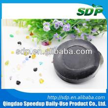 80G Round Black Toilet Soap