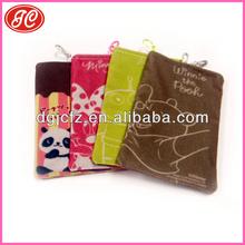 Drop superfine fiber cell phone bag