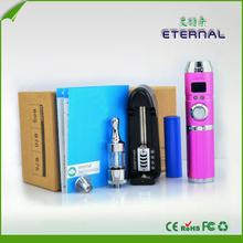 E Cig wax e cig atomizer with Variable Voltage 3V~6V Etrenal icig,big battery e cigarette