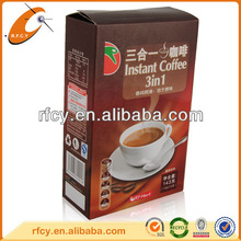 Mirco Coated Paper Coffee Packaging Boxes Manufacturer