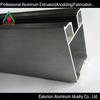 EALUNION manufacture high quality alloys shapes for sliding doors with coloring anodizing with brushing/sand blasting/polishing