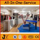 Ladies retail garments shop interior design