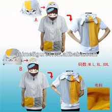 Natsume Yuujinchou Anime Short Sleeve Fleeces