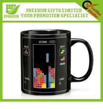 Interesting Design Tetris Heat Mug